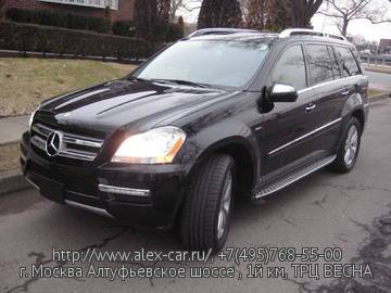 Купить Mercedes GL 350 Bluetec в Москве