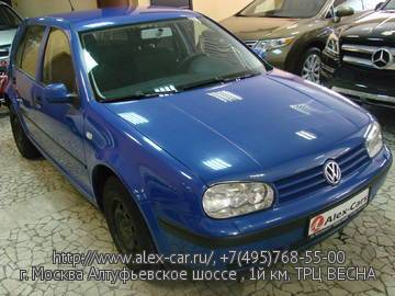 Купить Volkswagen Golf 4 в Москве