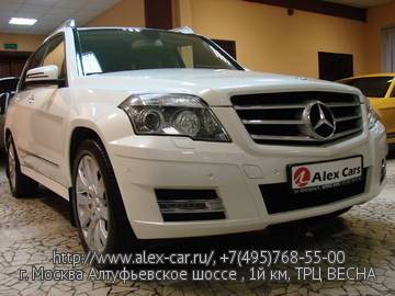 Купить Mercedes GLK 300 4matic в Москве