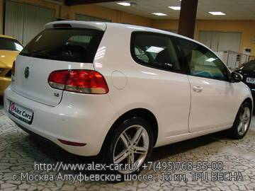 Купить Volkswagen Golf 6 в Москве