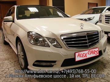 Купить Mercedes E350 4matic в Москве