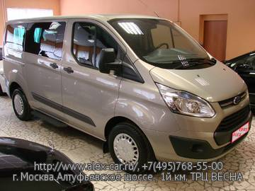 Купить Ford Tourneo Custom в Москве
