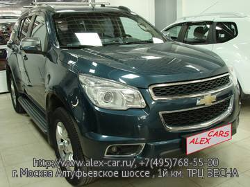Купить Chevrolet TrailBlazer в Москве