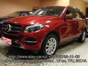 Купить Mercedes GLE 250d 4matic в Москве
